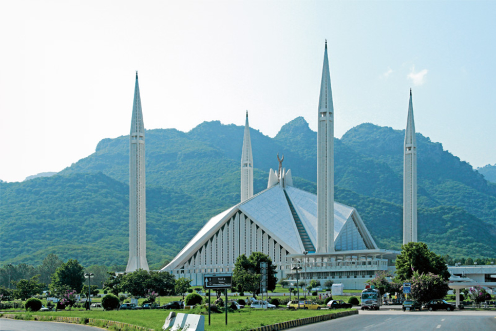 Faisal mosque among top 50