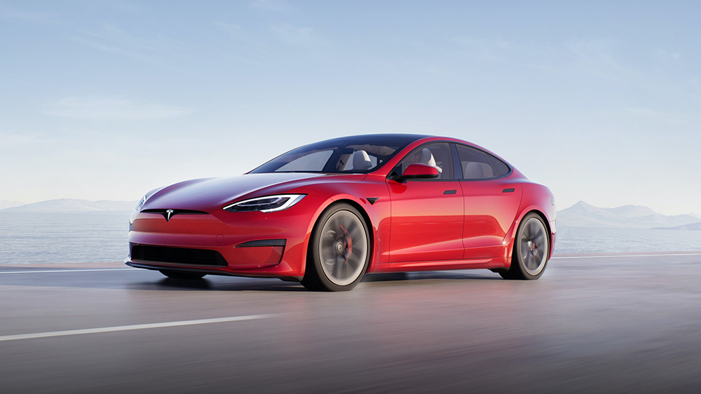 Model S on the upcoming cars