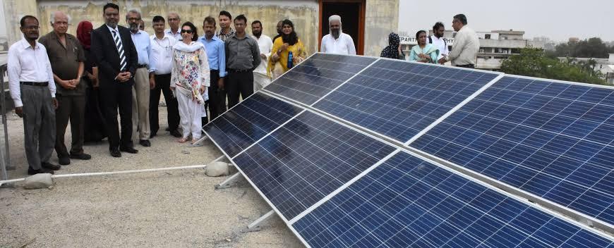 Solar plants at Arts in KU