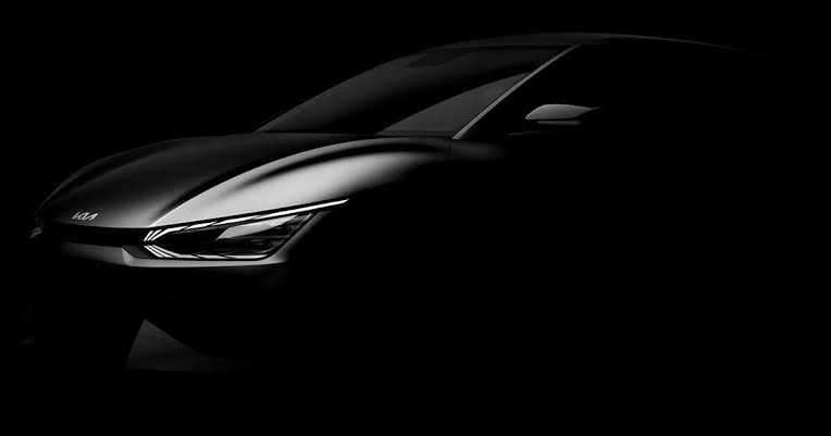 Electric car tease by KIA