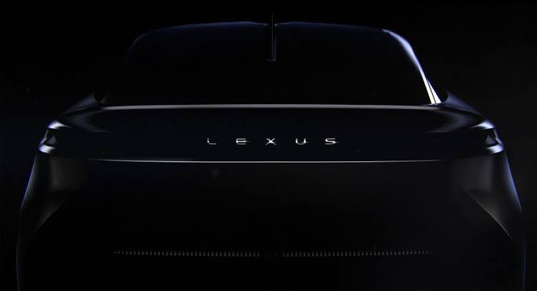 Lexus new EV tease
