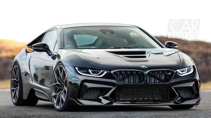 BMW new electric sedan