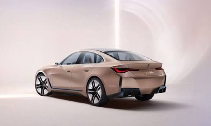 BMW new design and electric sedan