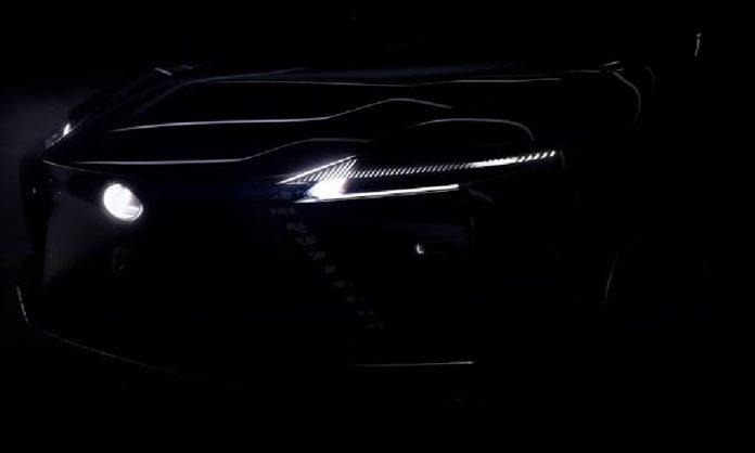 Lexus and the EV tease concept