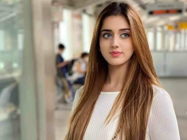 Jannat Mirza fame on tiktok