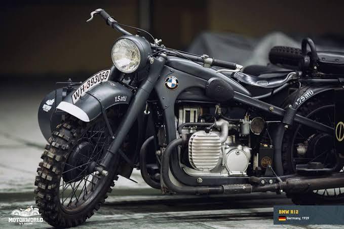BMW R12 twin cylinder engine