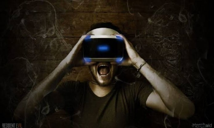 VR horror gaming with HTC