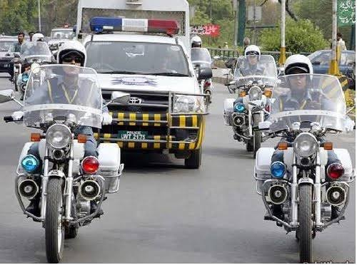 Female riders in khi police
