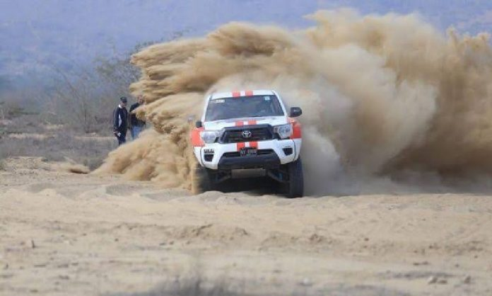 Hub rally by Toyota and Falcon