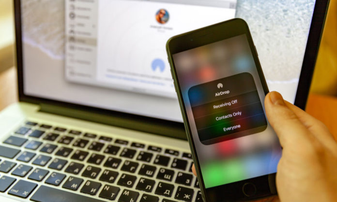 AirDrop can leak user data