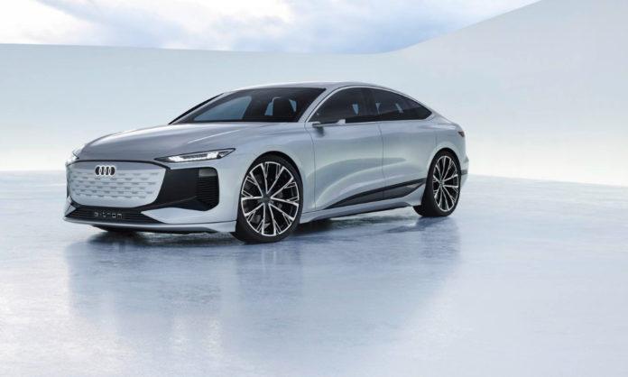 Audi new A6 etron revealed
