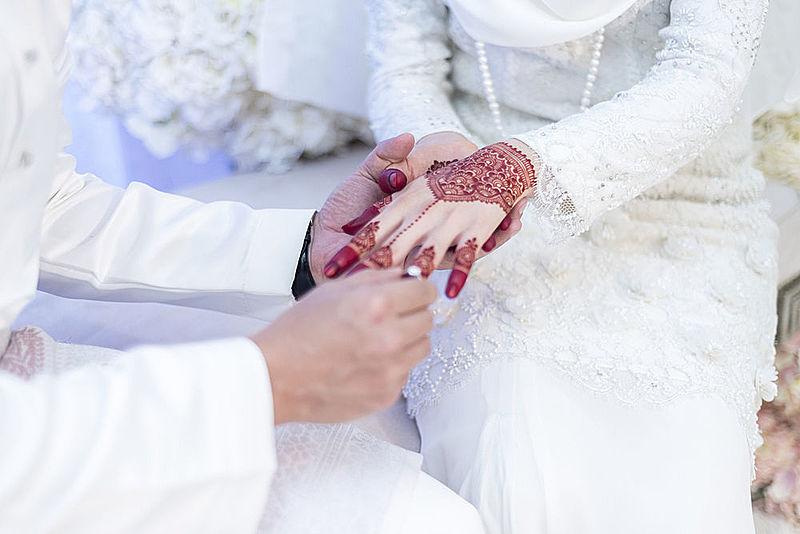 Iranian muslim wedding of Doctor