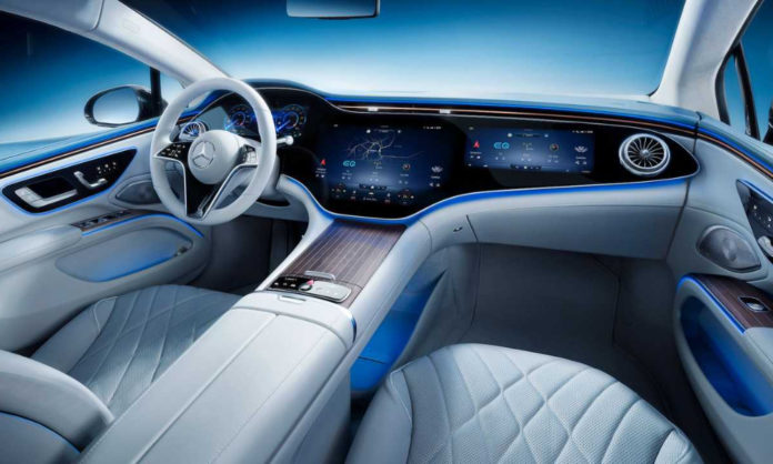 Mercedes new EQS interior and launch
