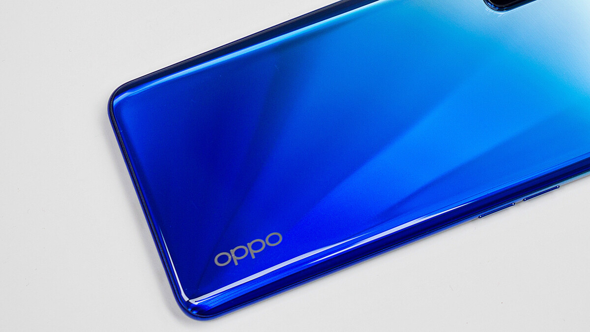 Oppo with invisible camera
