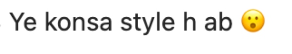 hira mani fashion