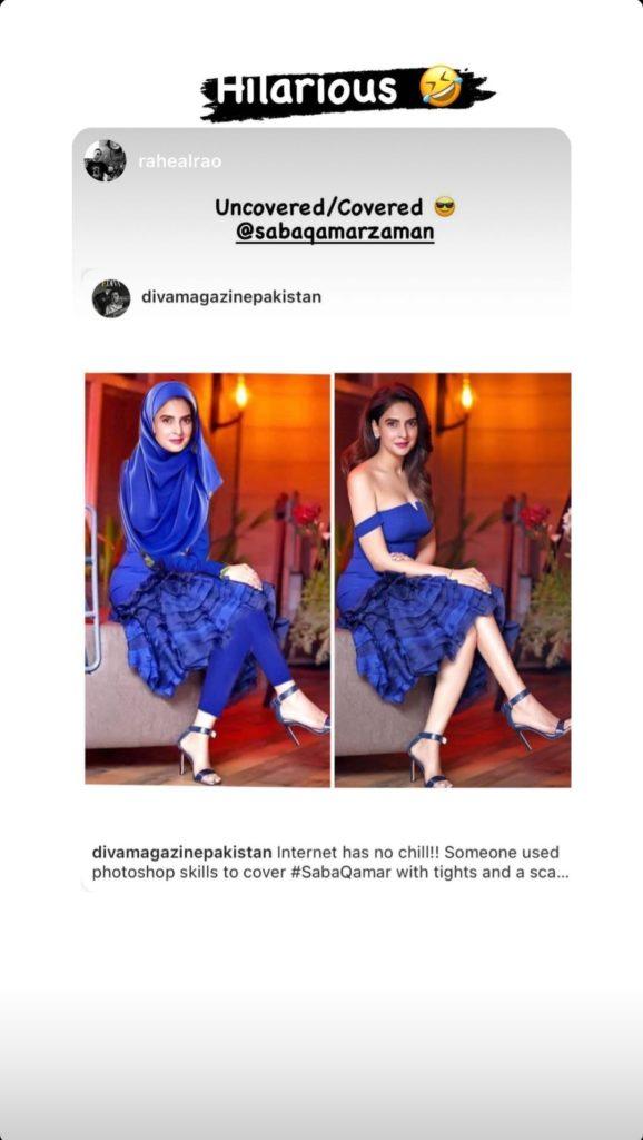 After Backlash, Internet User Edits Saba Qamar's Birthday Picture