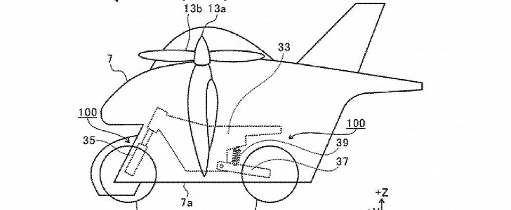 Subaru and plans for flying motorcycle