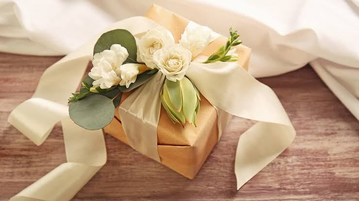 Gift given to bride