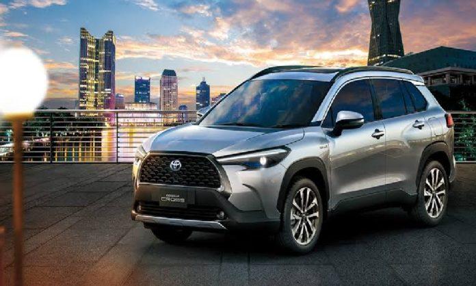 New Toyota Corolla Crossover SUV