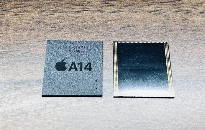iPhone with a shortage of chips