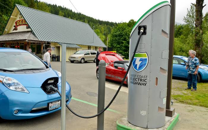First Electric charging station