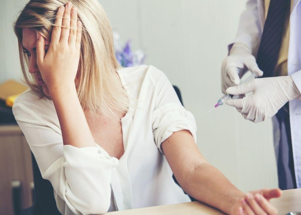 covid vaccine needles fear