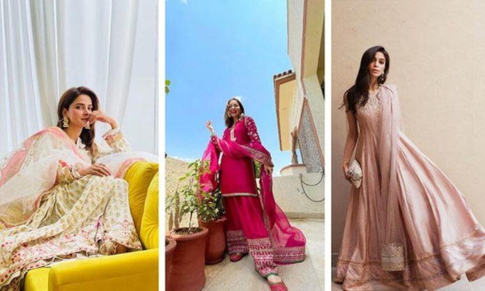 10 Best Dressed Pakistani Celebrities On Eid 2021