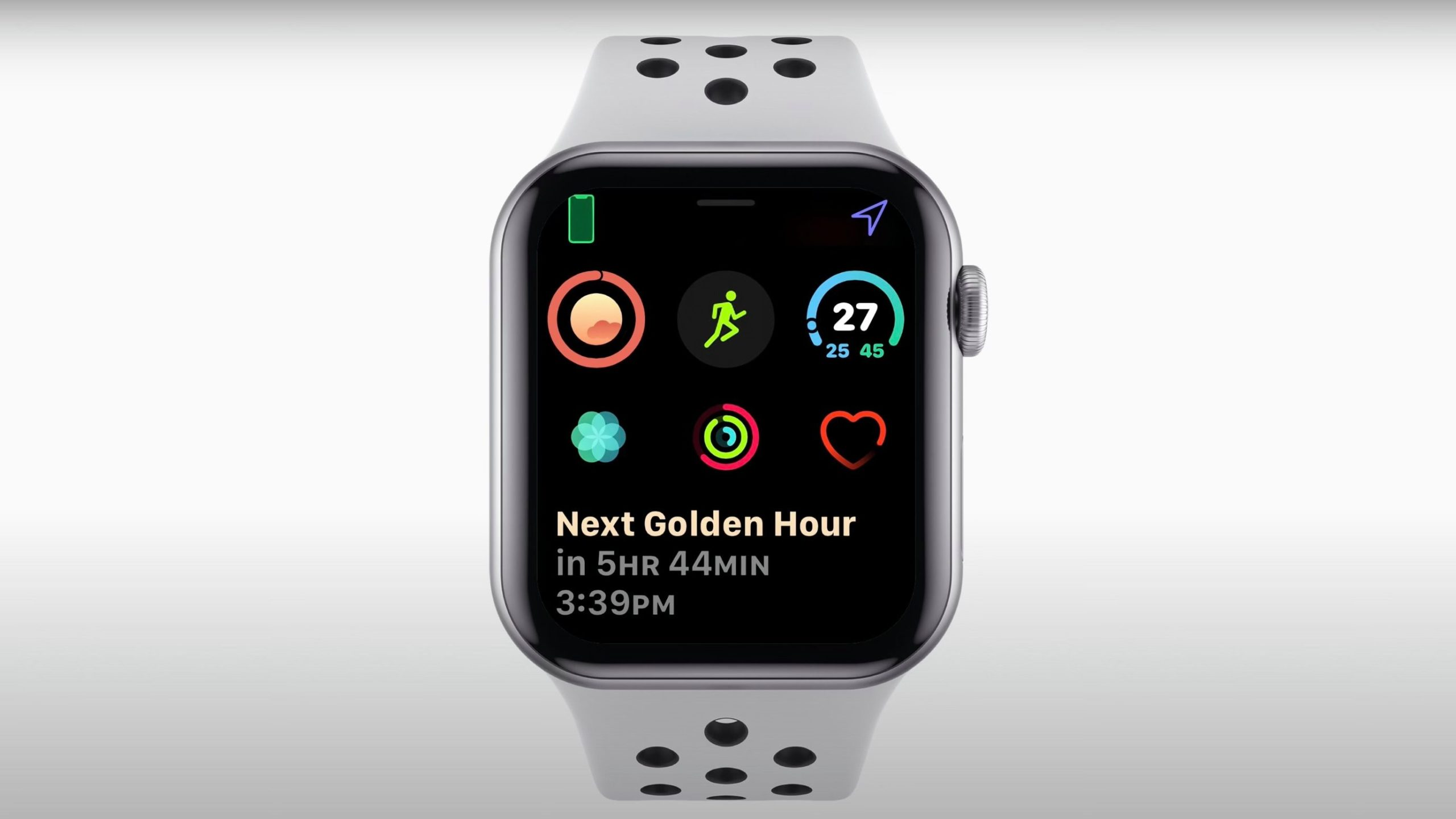 new Apple watch and features