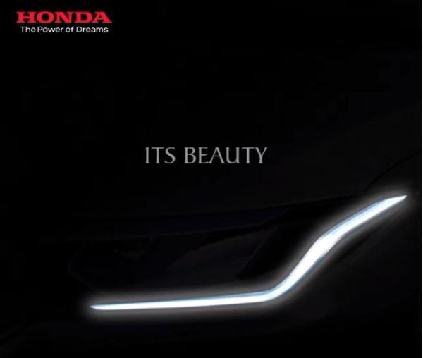 Honda city new teaser