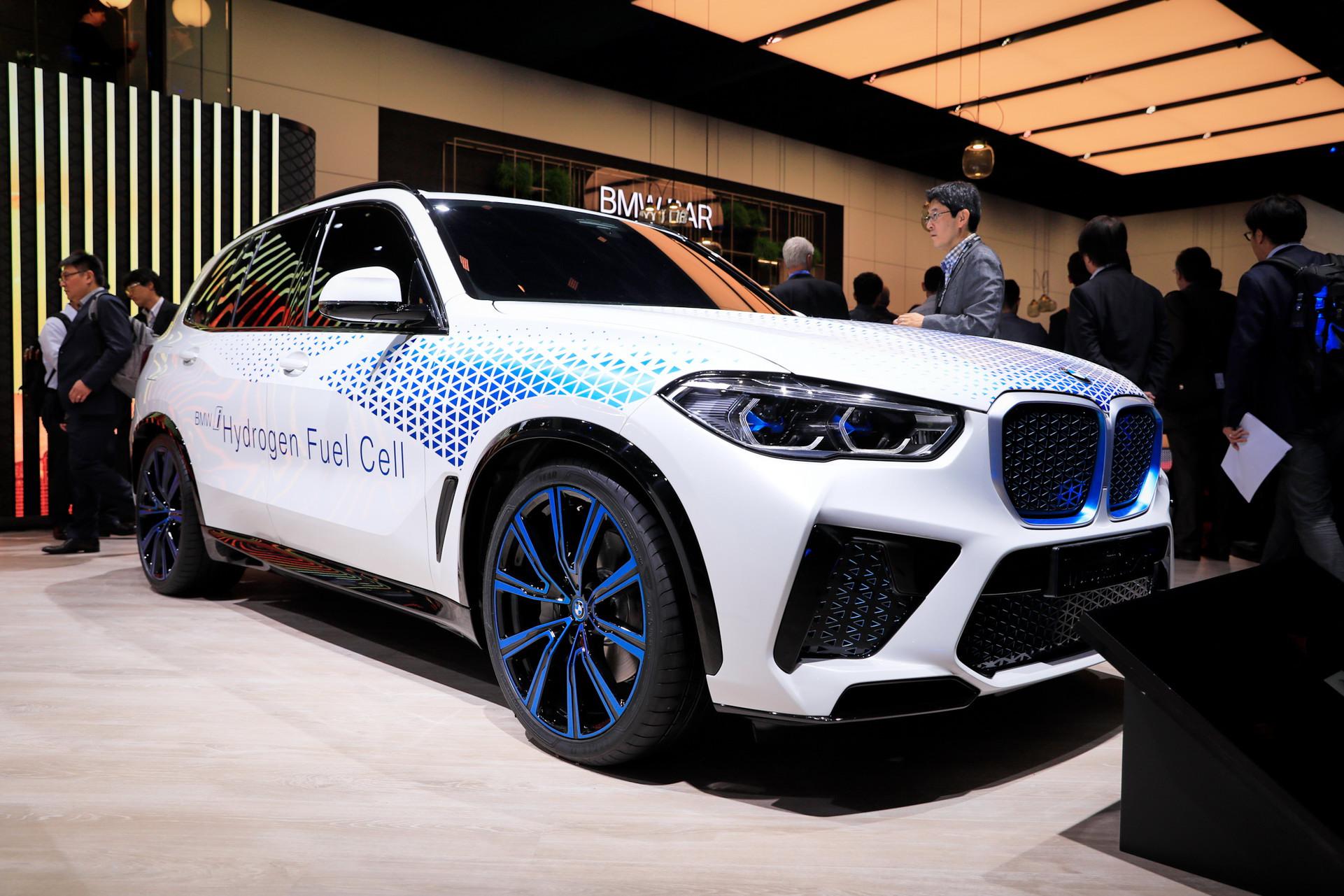 Hydrogen fuelc ell tech in BMW