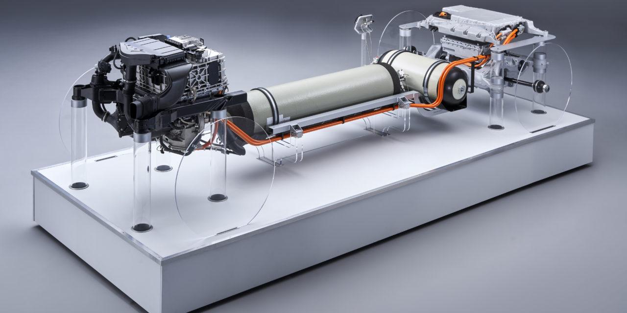 Hydrogen absed BMW car
