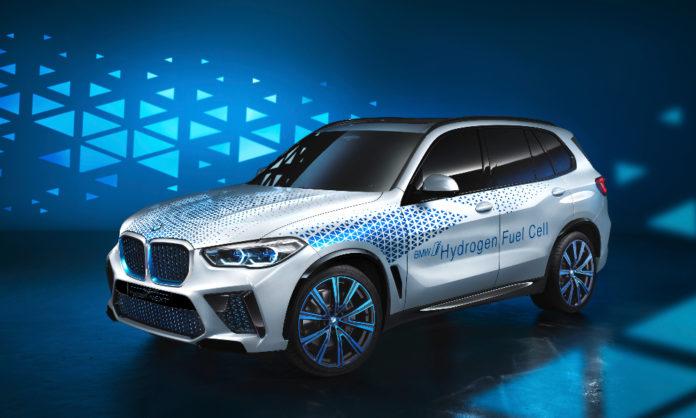 BMW new hydrogen based car