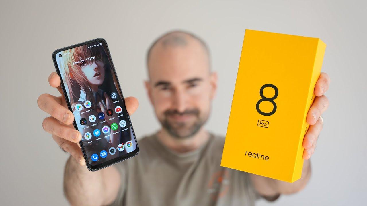 Realme 8 pro as best camera