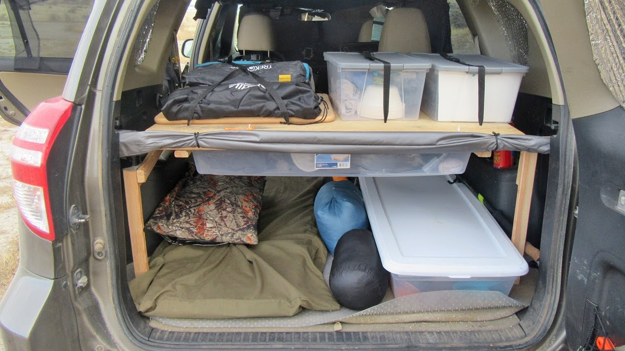 stoage space in SUV