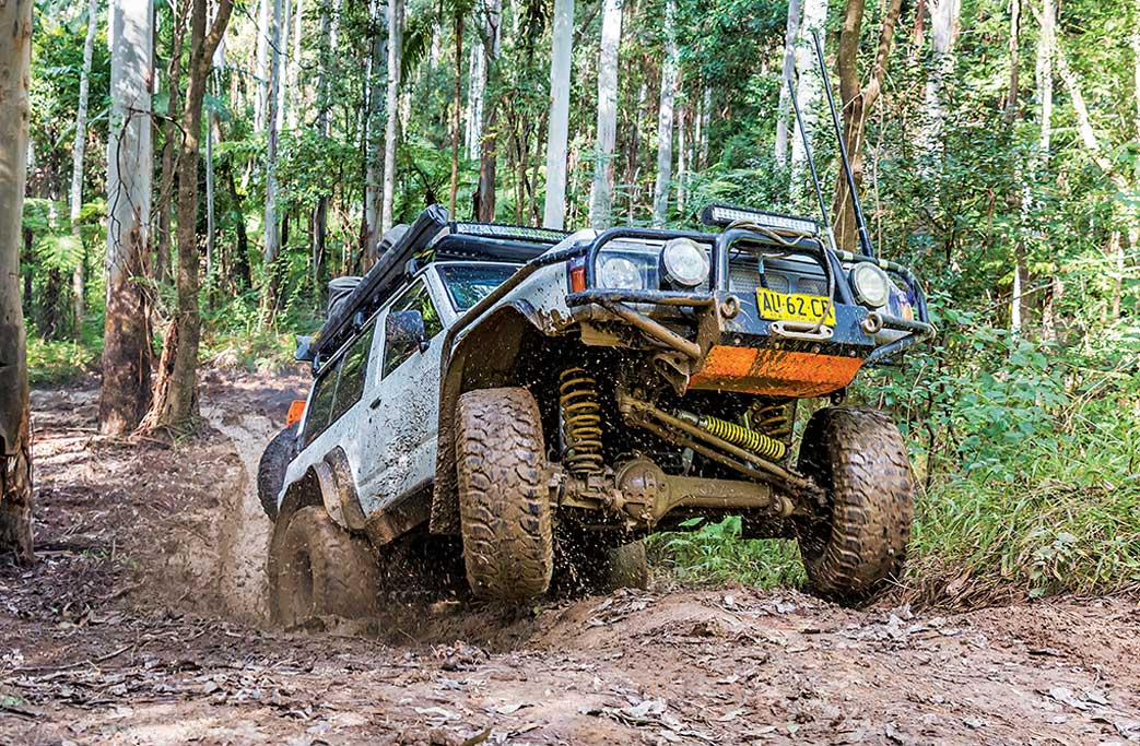 off road 4wd SUV