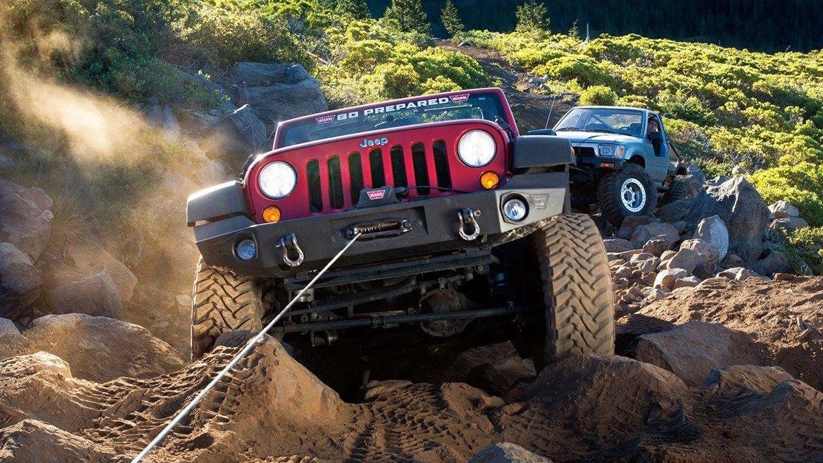 towing with jeep