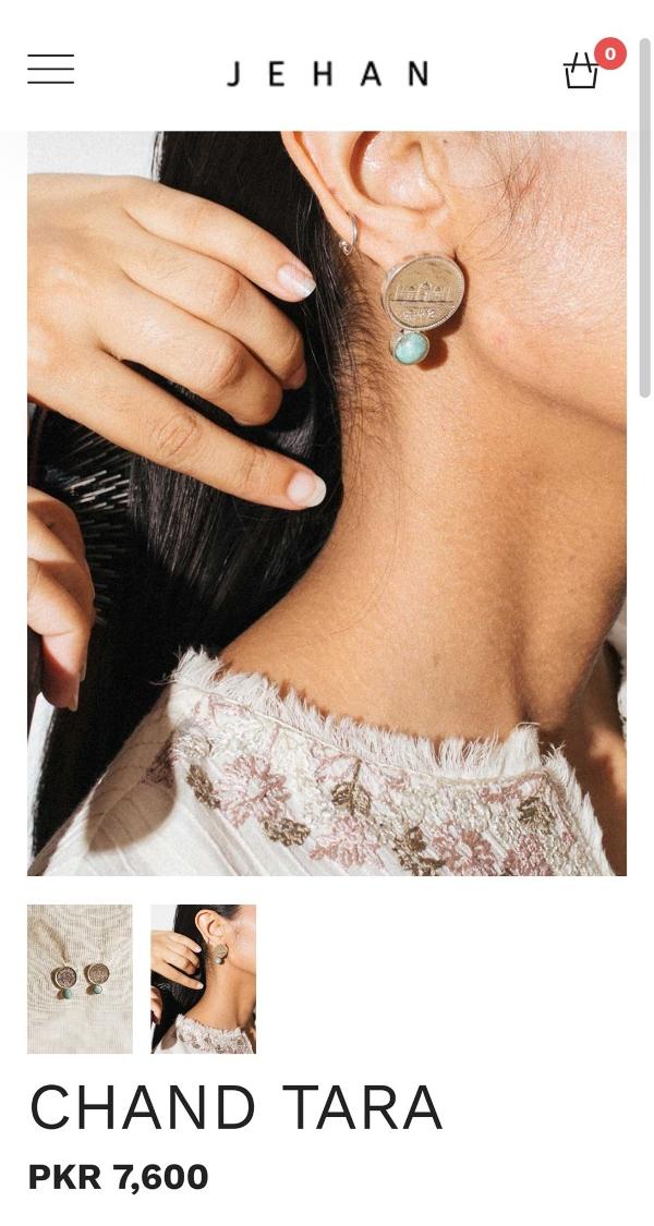 chand tara earrings