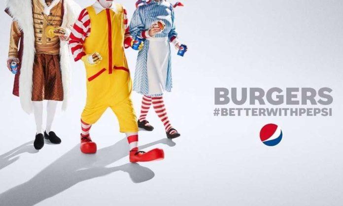 Pepsi burger