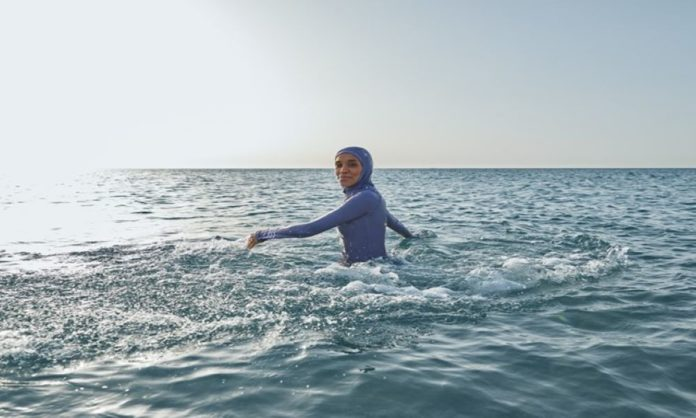 Adidas Launched It's First Full Coverage Sustainability Swimwear For Women