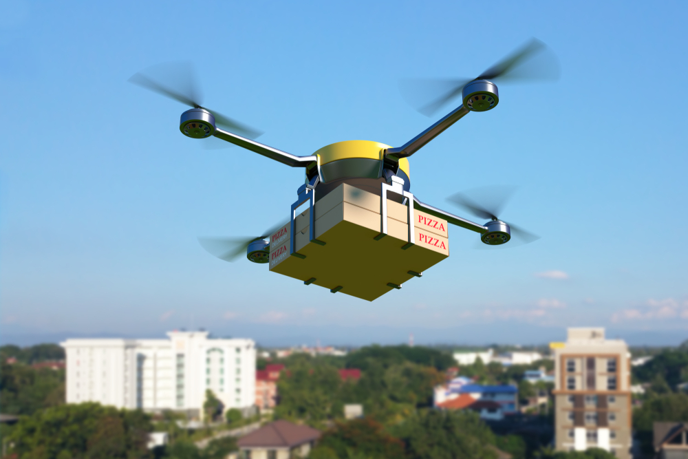drone food delivery and careem