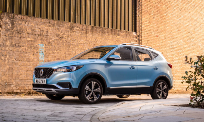 MG ZS EV as locally produced mass vehicle
