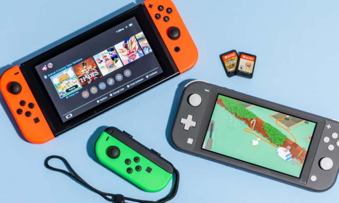 Nintendo switch and switch lite compare