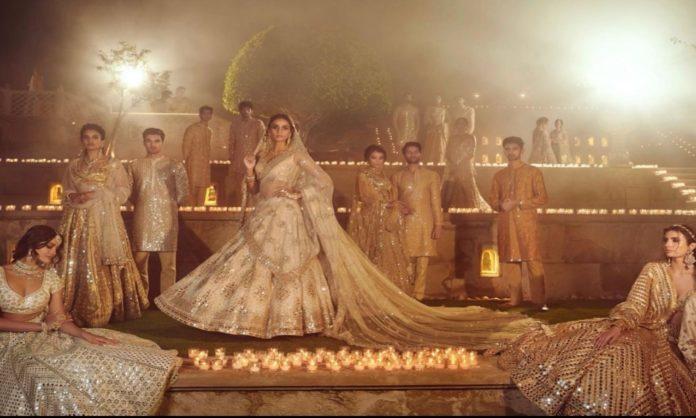indian designer pakistan shoot