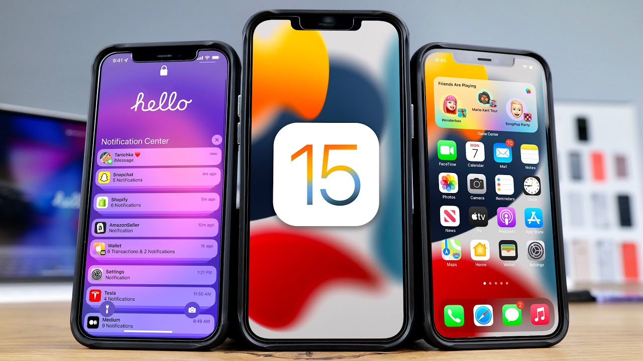 iOS 15 features and siri functions