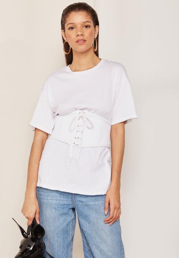 basic t-shirt style without spending money
