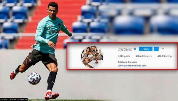 christiano ronaldo instagram followers history