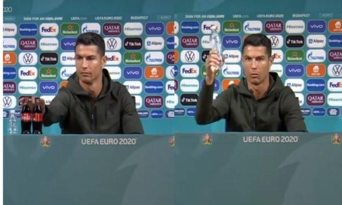Coca-Cola Suffers Heavy Losses After Cristiano Ronaldo's Recent Gesture