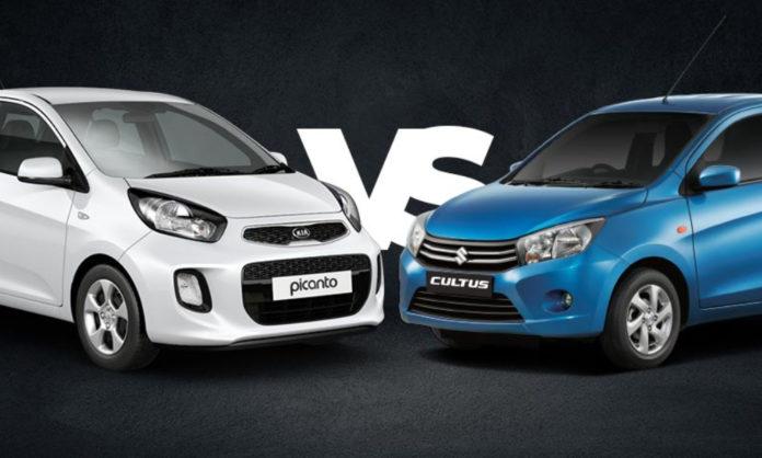 Suzuki Cultus and Kia picanto comparison post