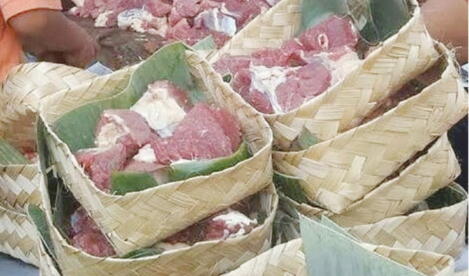 distribution of meat