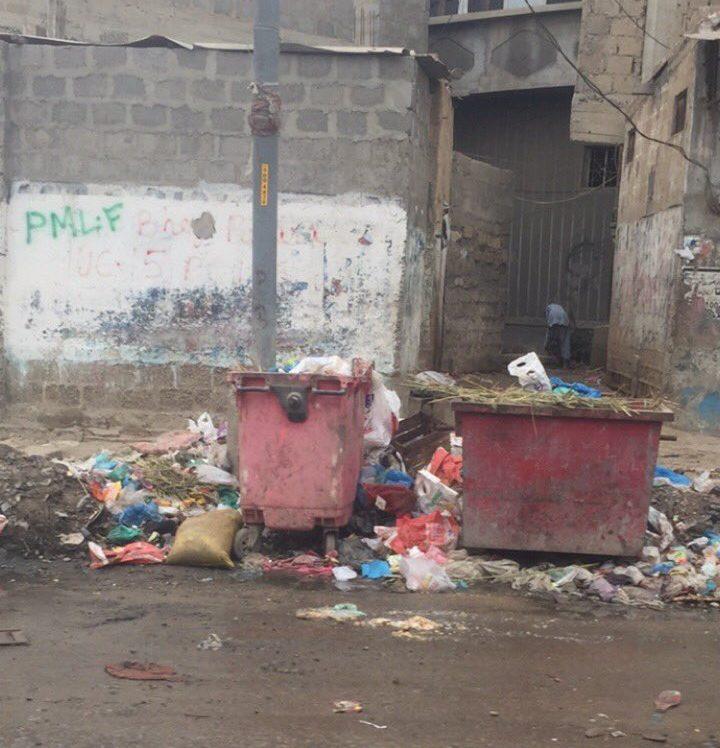 eid and karach situation of trash